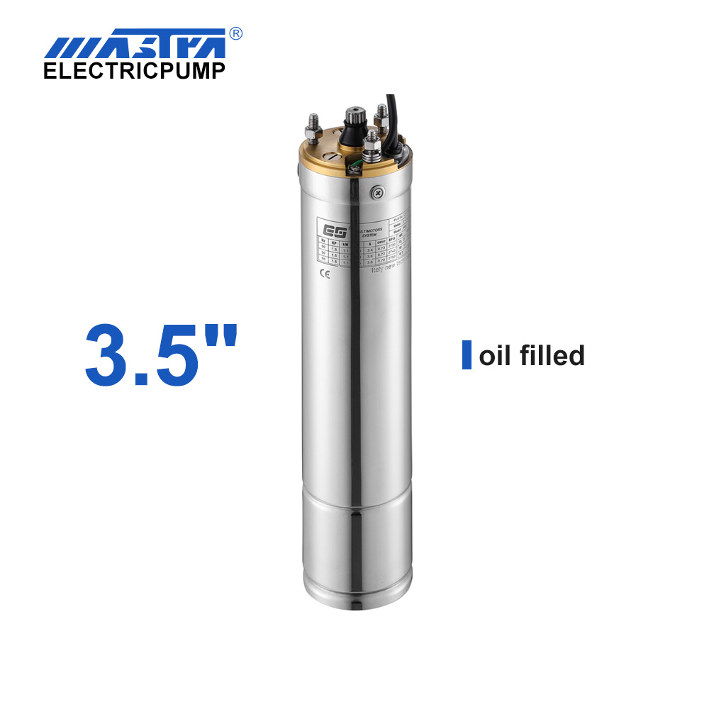 "3.5 ""Motor sumergible de enfriamiento de aceite hfn pump up price"